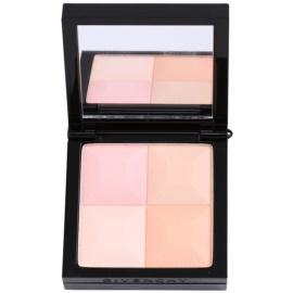 Givenchy Le Prisme kompaktní pudr se štětečkem odstín 83 Peach Plumetis  11 g
