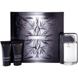 Givenchy Play подарунковий набір ІІ  Туалетна вода 100 ml + Гель для душу 50 ml + Бальзам після гоління 50 ml