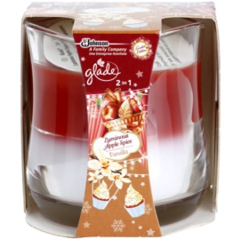 Glade Luminous Apple Spice and Vanilla 2 in1 Duftkerze  135 g