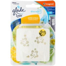 Glade Discreet Magnet aroma difuzér s náplní 8 g s náplní Fresh Citrus