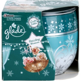 Glade Dazzling Blossom vela perfumado 120 g