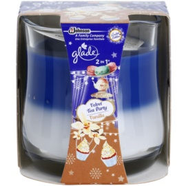 Glade Velvet Tea Party and Vanilla 2 in 1 vonná svíčka 135 g