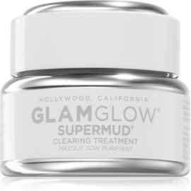 Glam Glow SuperMud Cleansing Mask for Flawless Skin  15 g
