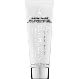 Glam Glow Super Cleanse čistiaca a odličovacia pena  30 g