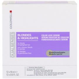 Goldwell Dualsenses Blondes & Highlights серум за коса с кичури   12x18 мл.