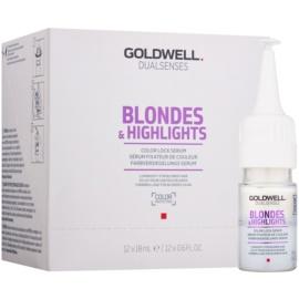 Goldwell Dualsenses Blondes & Highlights сироватка для блонд та мелірованого волосся  12x18 мл