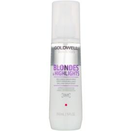 Goldwell Dualsenses Blondes & Highlights Spray ser fără clătire pentru parul blond cu suvite  150 ml
