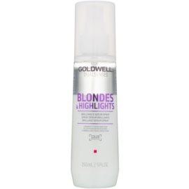 Goldwell Dualsenses Blondes & Highlights spülfreies Serum im Spray für blondes und meliertes Haar  150 ml