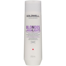 Goldwell Dualsenses Blondes & Highlights Shampoo for Blonde Hair for Yellow Tones Neutralization  250 ml