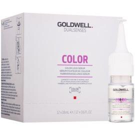 Goldwell Dualsenses Color serum do włosów do delikatnych włosów farbowanych  12x18 ml