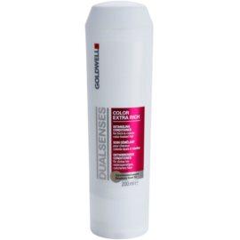 Goldwell Dualsenses Color Extra Rich condicionador para cabelo pintado  200 ml