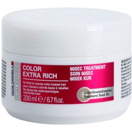 Goldwell Dualsenses Color Extra Rich maseczka regenerująca do włosów farbowanych  200 ml
