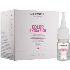 Goldwell Dualsenses Color Extra Rich сироватка для захисту кольору волосся та надання блиску  12x18 мл