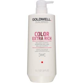 Goldwell Dualsenses Color Extra Rich szampon ochronny do włosów farbowanych  1000 ml
