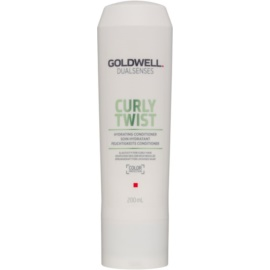 Goldwell Dualsenses Curly Twist feuchtigkeitsspendender Conditioner für Dauerwelle und welliges Haar  200 ml