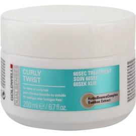 Goldwell Dualsenses Curly Twist maseczka  do włosów kręconych  200 ml