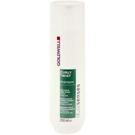 Goldwell Dualsenses Curly Twist šampon za valovite lase in lase s trajno ondulacijo  250 ml