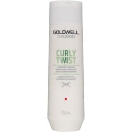 Goldwell Dualsenses Curly Twist Feuchtigkeit spendendes Shampoo für welliges und lockiges Haar  250 ml