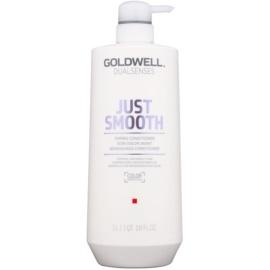 Goldwell Dualsenses Just Smooth glättender Conditioner für widerspenstiges Haar  1000 ml