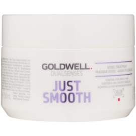 Goldwell Dualsenses Just Smooth masca de netezire pentru par indisciplinat  200 ml