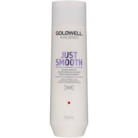 Goldwell Dualsenses Just Smooth champú alisador para cabello rebelde  250 ml