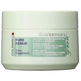 Goldwell Dualsenses Green Pure Repair regenerační maska pro namáhané a poškozené vlasy  200 ml
