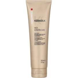Goldwell Kerasilk Rich Care máscara de suavização para cabelos rebeldes e danificados  150 ml