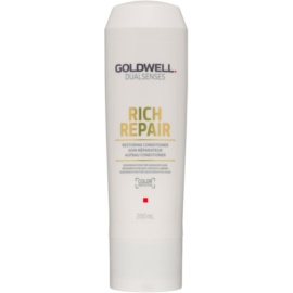 Goldwell Dualsenses Rich Repair erneuernder Conditioner für trockenes und beschädigtes Haar  200 ml