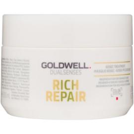 Goldwell Dualsenses Rich Repair máscara para cabelo seco a danificado  200 ml