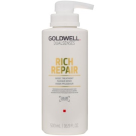 Goldwell Dualsenses Rich Repair máscara para cabelo seco a danificado  500 ml