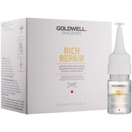 Goldwell Dualsenses Rich Repair intensive erneuernde Creme für trockenes und beschädigtes Haar  12 x 18 ml