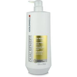 Goldwell Dualsenses Rich Repair champô regenerador para cabelo seco a danificado  1500 ml
