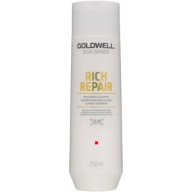 Goldwell Dualsenses Rich Repair champú reparador para cabello seco y dañado  250 ml