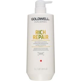 Goldwell Dualsenses Rich Repair szampon odbudowujący włosy do włosów suchych i zniszczonych  1000 ml