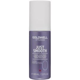 Goldwell StyleSign Just Smooth sérum termal em spray para finalização térmica de cabelo  100 ml
