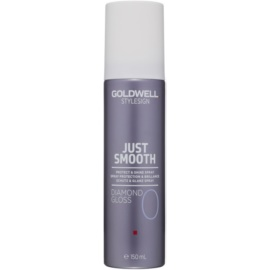 Goldwell StyleSign Just Smooth zaščitno pršilo za sijaj in mehkobo las  150 ml