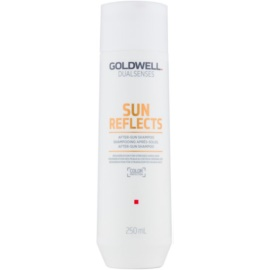 Goldwell Dualsenses Sun Reflects Shampoo voor Haar en Lichaam  After Sun   250 ml