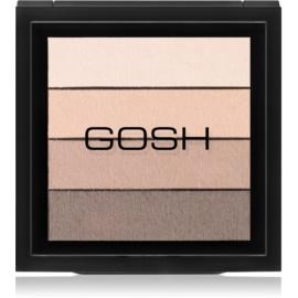 Gosh Smokey paleta farduri de ochi culoare 02 Brown 8 g