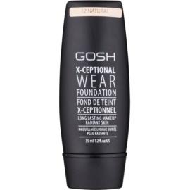 Gosh X-ceptional dlouhotrvající make-up odstín 12 Natural 35 ml