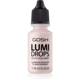 Gosh Lumi Drops iluminator lichid culoare 002 Vanilla 15 ml