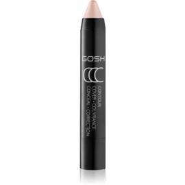 Gosh CCC rozjasňující tyčinka odstín 001 Vanilla Highlighter 3,3 g