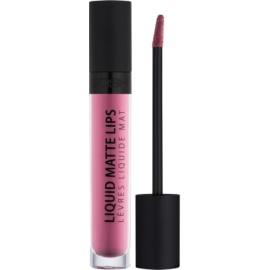 Gosh Liquid Matte Lips ruj de buze lichid culoare 001 Candyfloss 4 ml
