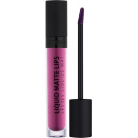 Gosh Liquid Matte Lips ruj de buze lichid culoare 006 Berry Me 4 ml