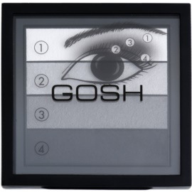 Gosh Smokey paleta de sombras  tom 01 Black 8 g
