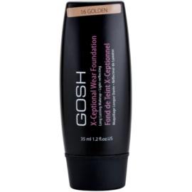 Gosh X-ceptional dlouhotrvající make-up odstín 16 Golden 35 ml