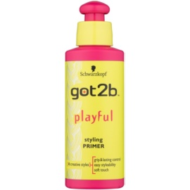 got2b Playful Emulsion für kräftiges und widerspenstiges Haar  100 ml