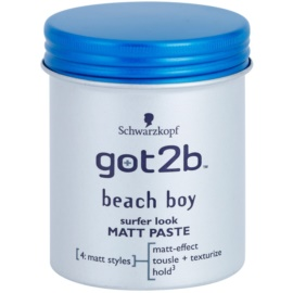 got2b Beach Boy mattirende Paste für Definition und Form  100 ml