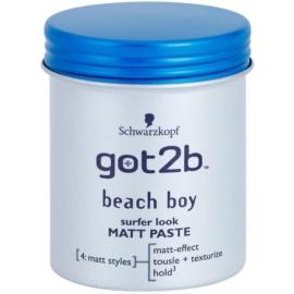 got2b Beach Boy pasta matificante para dar definición y mantener la forma  100 ml