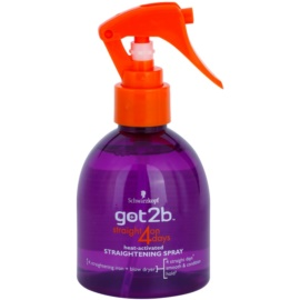 got2b Straight on 4 Days Spray  voor Haarstijling   200 ml