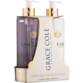 Grace Cole Boutique Nectarine Blossom & Grapefruit Cosmetic Set II.